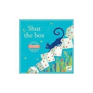 Djeco: gra w kości shut the box