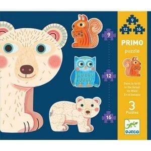 djeco: puzzle primo las