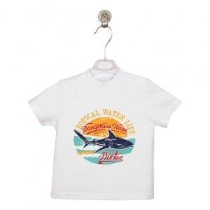 PT: t-shirt SHARK, 86cm / 18m