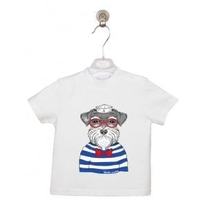 PT: t-shirt HIPSTER SAILOR, 104cm / 4L