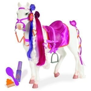 our generation: duży koń dla lalki 46cm