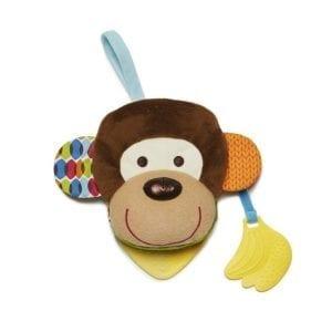 skip hop: Książeczka pacynka Bandana Buddies małpa