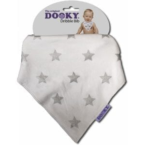 dooky: Chustka - śliniak silver Stars