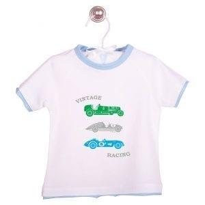 PT: t-shirt retro cars, 74cm / 9m