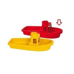 gowi: Łódka do zabawy w wodzie czerwona