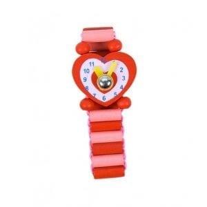 bigjigs: drewniany zegarek