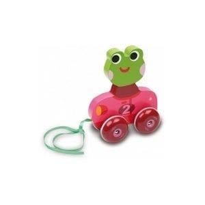 vilac: żabka do ciągnięcia