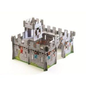 djeco zamek warowny 3D UKŁADANKA
