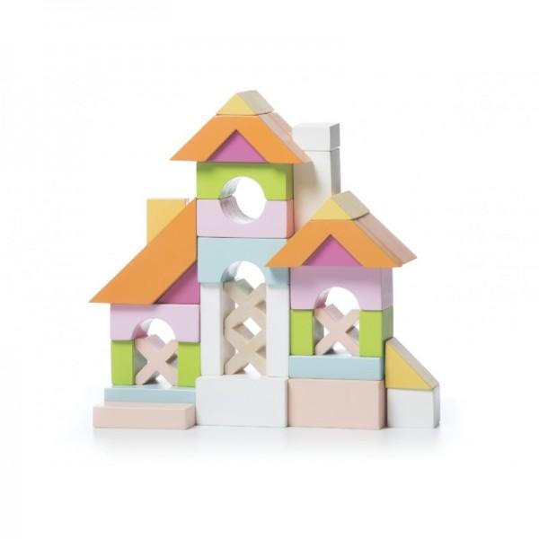 CuBiKa: klocki drewniane dom