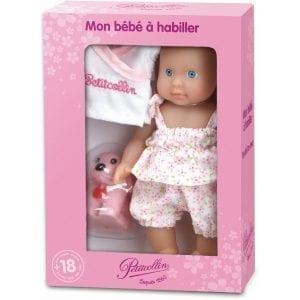 petitcollin: lalka z pieskiem