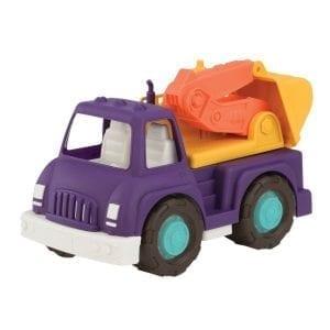 b.toys: Ciężarówka z koparką