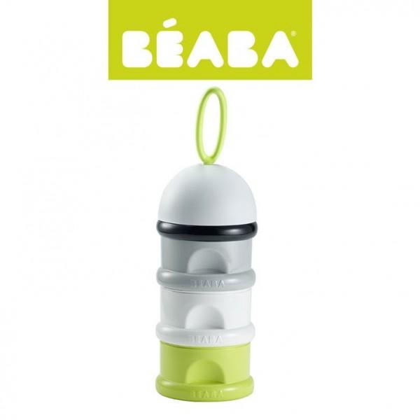 Beaba Pojemniki na mleko w proszku neon