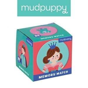 Mudpuppy: Gra Memo Księżniczka