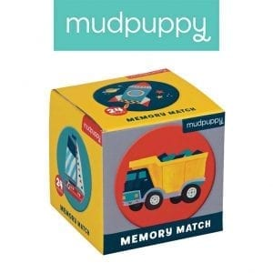Mudpuppy: Gra Memo pojazdy