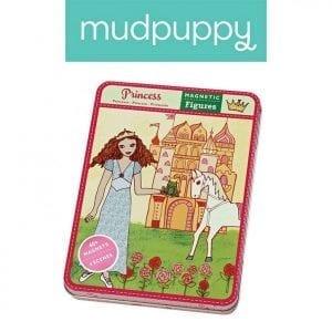 Mudpuppy: Magnetyczna układanka Księżniczki 6+