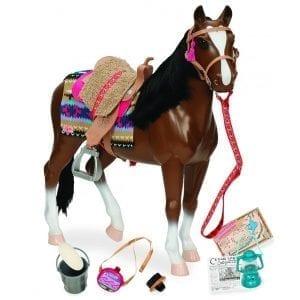 our generation: KARY koń pełnej krwi angielskiej dla lalki 46cm