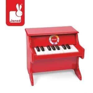JANOD: Confetti pianino czerwone