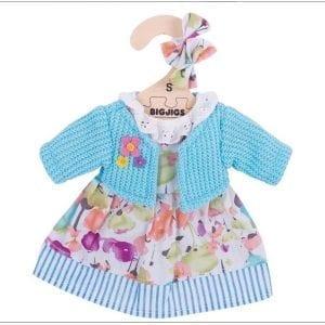 bigjigs: ubranka dla lalki 25cm