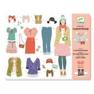 djeco: zestaw kreatywny pokój ubrań