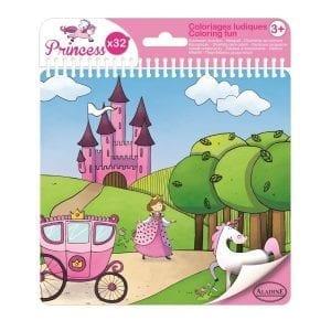 aladine: księżniczki - książeczka do kolorowania