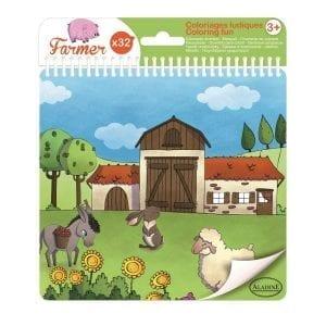 aladine: farma - książeczka do kolorowania