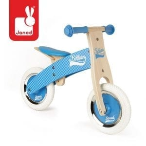 janod: Rowerek biegowy Little Bikloon 2+ niebieski