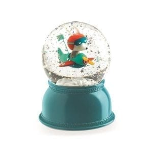 djeco: lampka kula śnieżna samolot