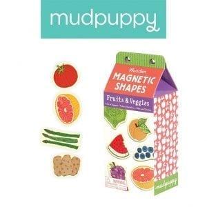 mudpuppy: magnesy Owoce i warzywa 35 el.