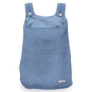 jollein: Duża torba na akcesoria Heavy Knit blue