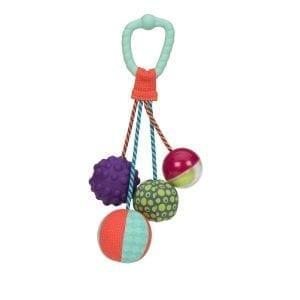b.toys: gryzak z piłkami sensorycznymi Sounds So Squeezy