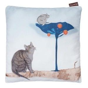 Blanket Story: poduszka Kot w Butach 40x40 cm