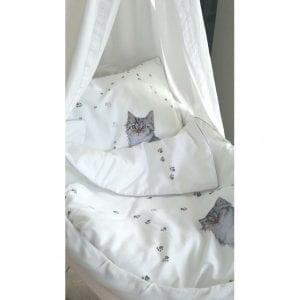 Blanket Story: pościel kot w butach 80x100 cm