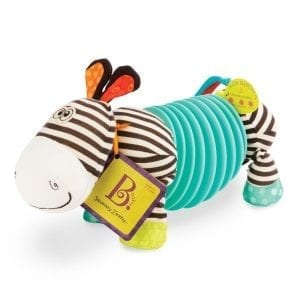b.toys: zebra akordeon Squeezy Zeeby