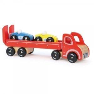 vilac: Laweta z 2 samochodzikami
