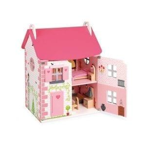 janod: Domek dla lalek z 11 meblami
