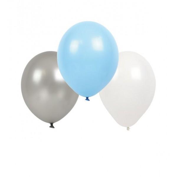 Jabadabado: BLUE – balony perłowe 9 szt.