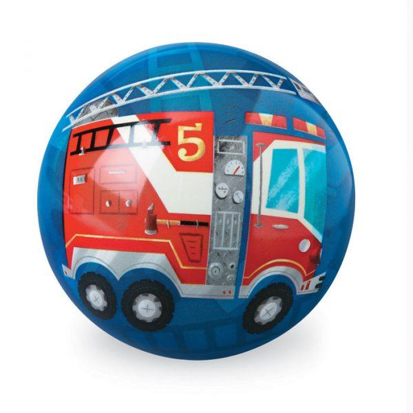 BLUE BIG DOT BALL 0051