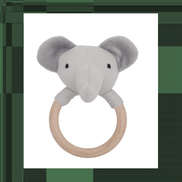 grzechotka-gryzak-drewniana-szary-slon-jabadabado