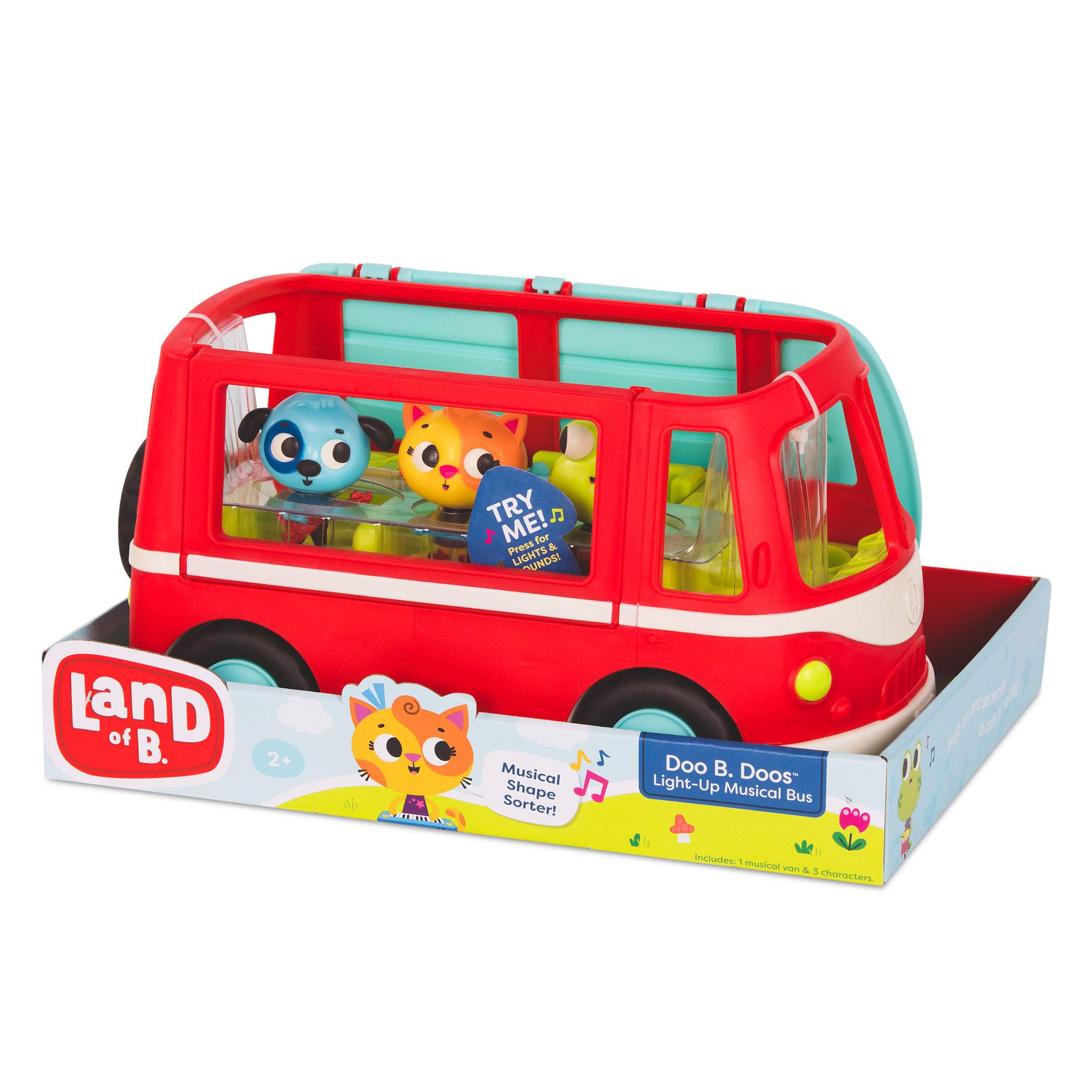 Land of B. Doo B. Doos – MUZYCZNY autobus z wesołymi pasażerami